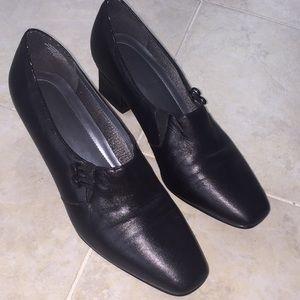 Karen Scott Radner Black Ankle Shoes/Boots